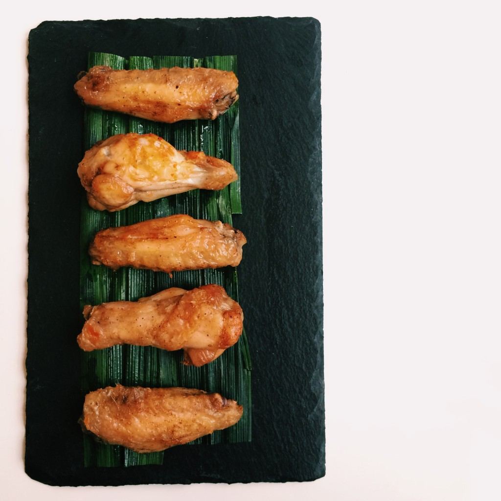 5 spices chicken wings
