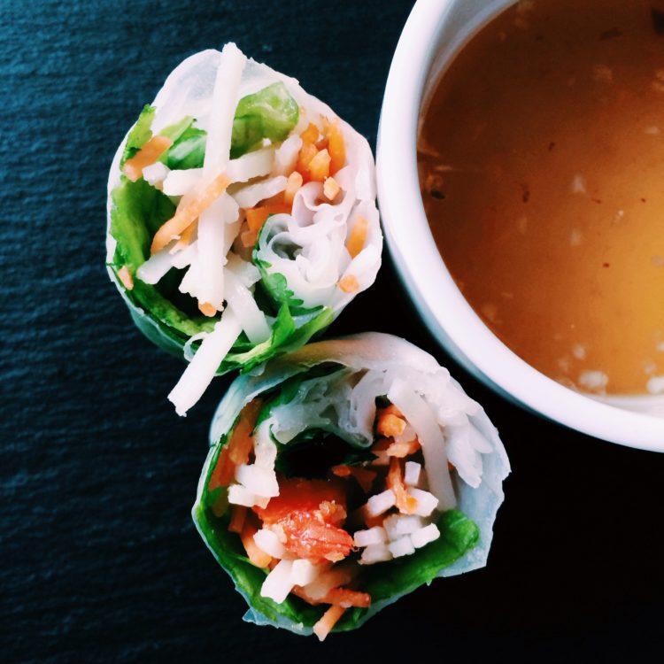 Goi Cuon: Vietnamese Fresh spring rolls