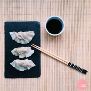 Foodblogswap potstickers jiauzi gyoza