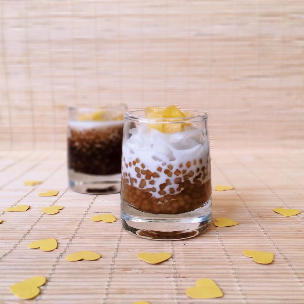Sago Pearls Dessert