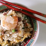 Close up fried rice