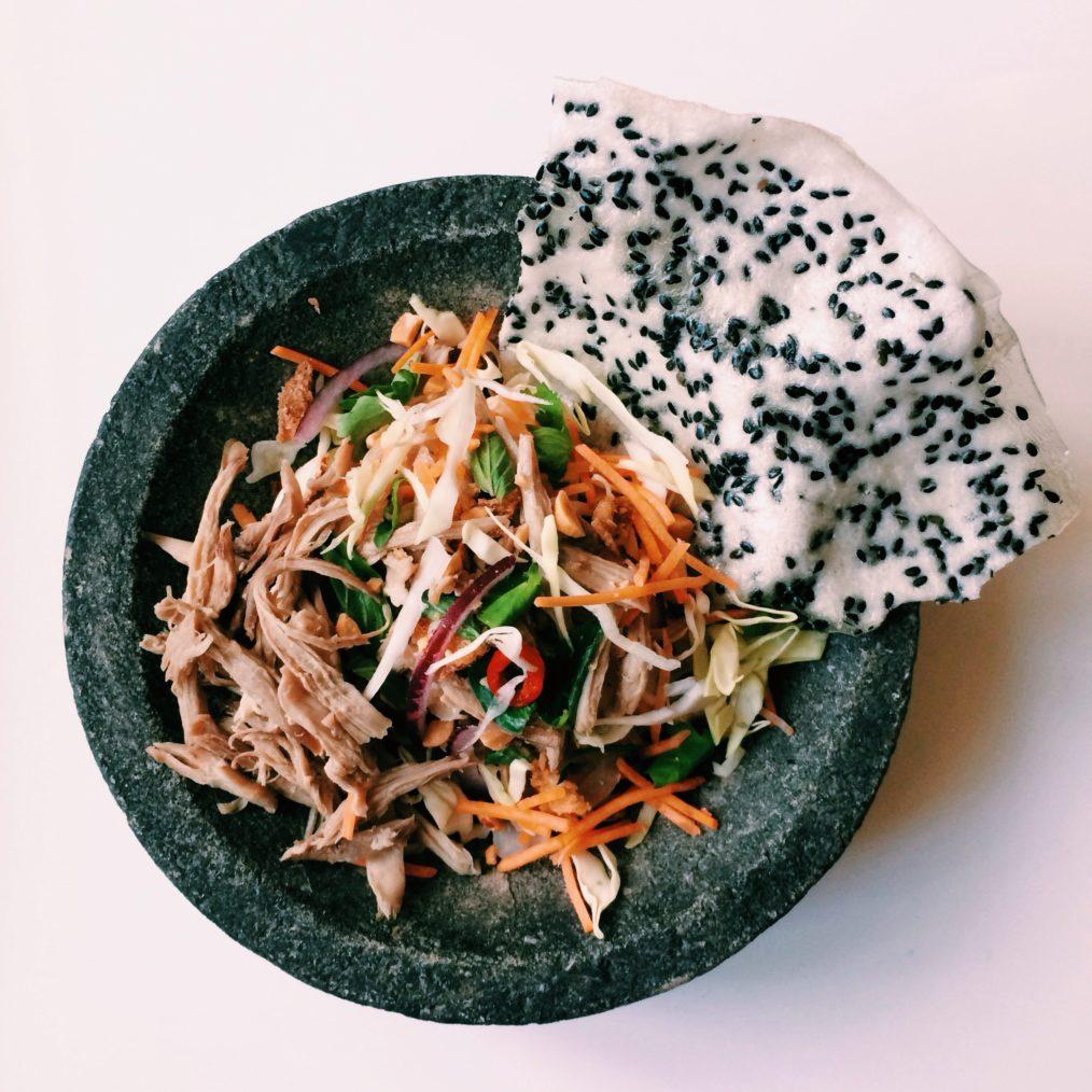 Goi vit - vietnamese eend salade