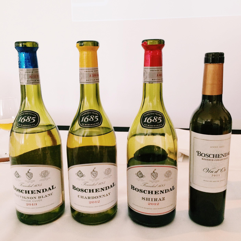 Boschendal chocolate and wine tasting culinessa for Boschendal wine