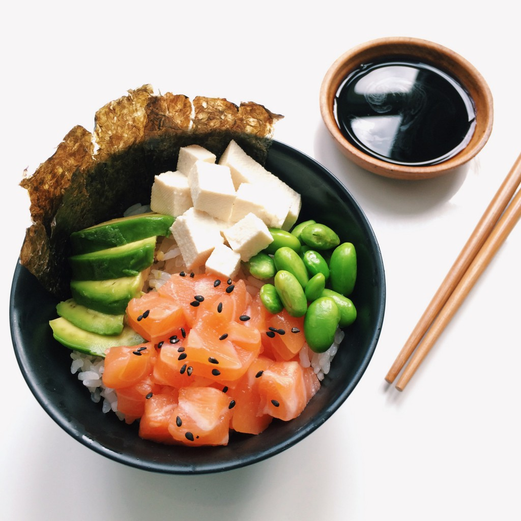 Sushi in a bowl Culinessa