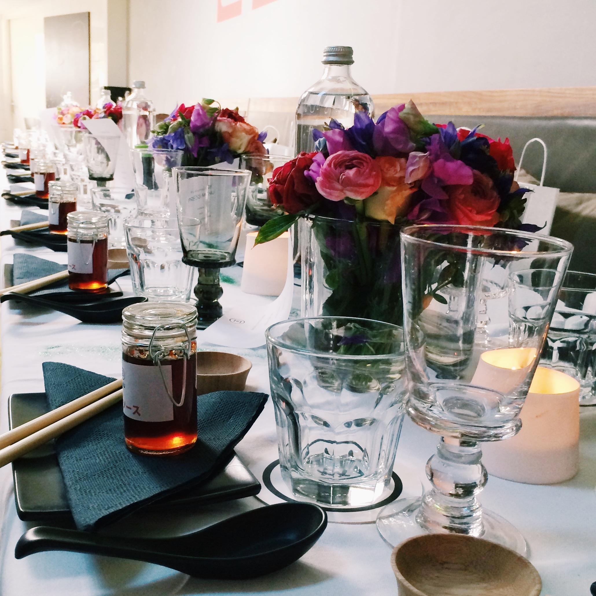 table setting ku kitchen culinessa