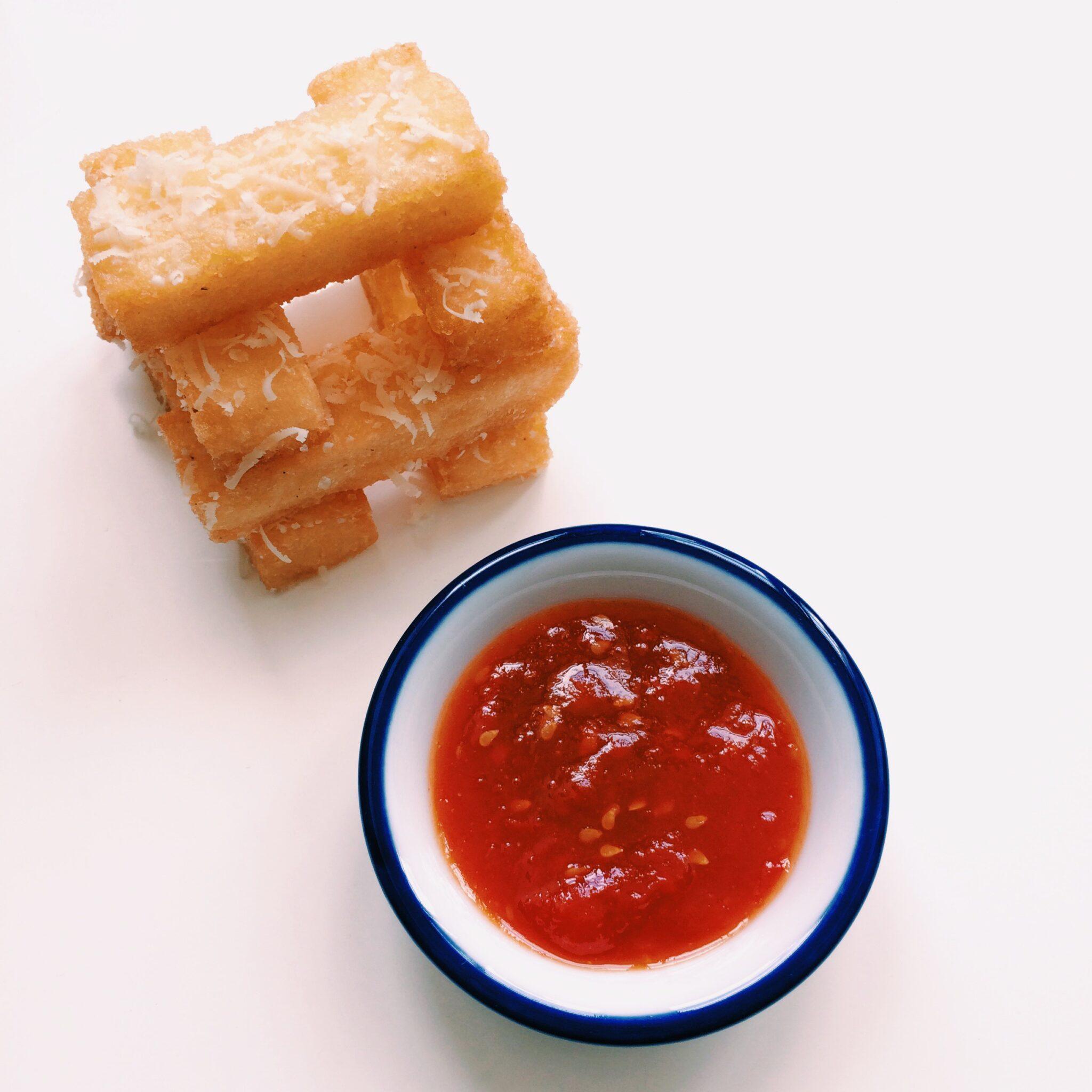 IMG 0507 e1406269998217 - Dushi Fried Funchi with Tomato Marmelade