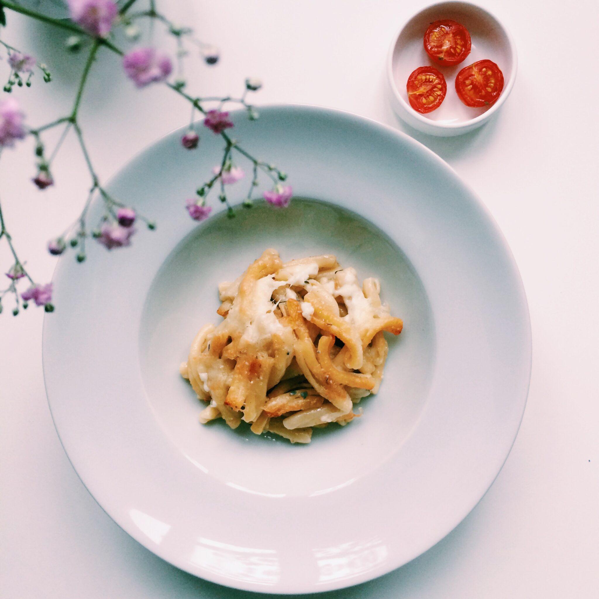 IMG 0568 e1406325039380 - Tijd voor quattro formaggi pasta al forno