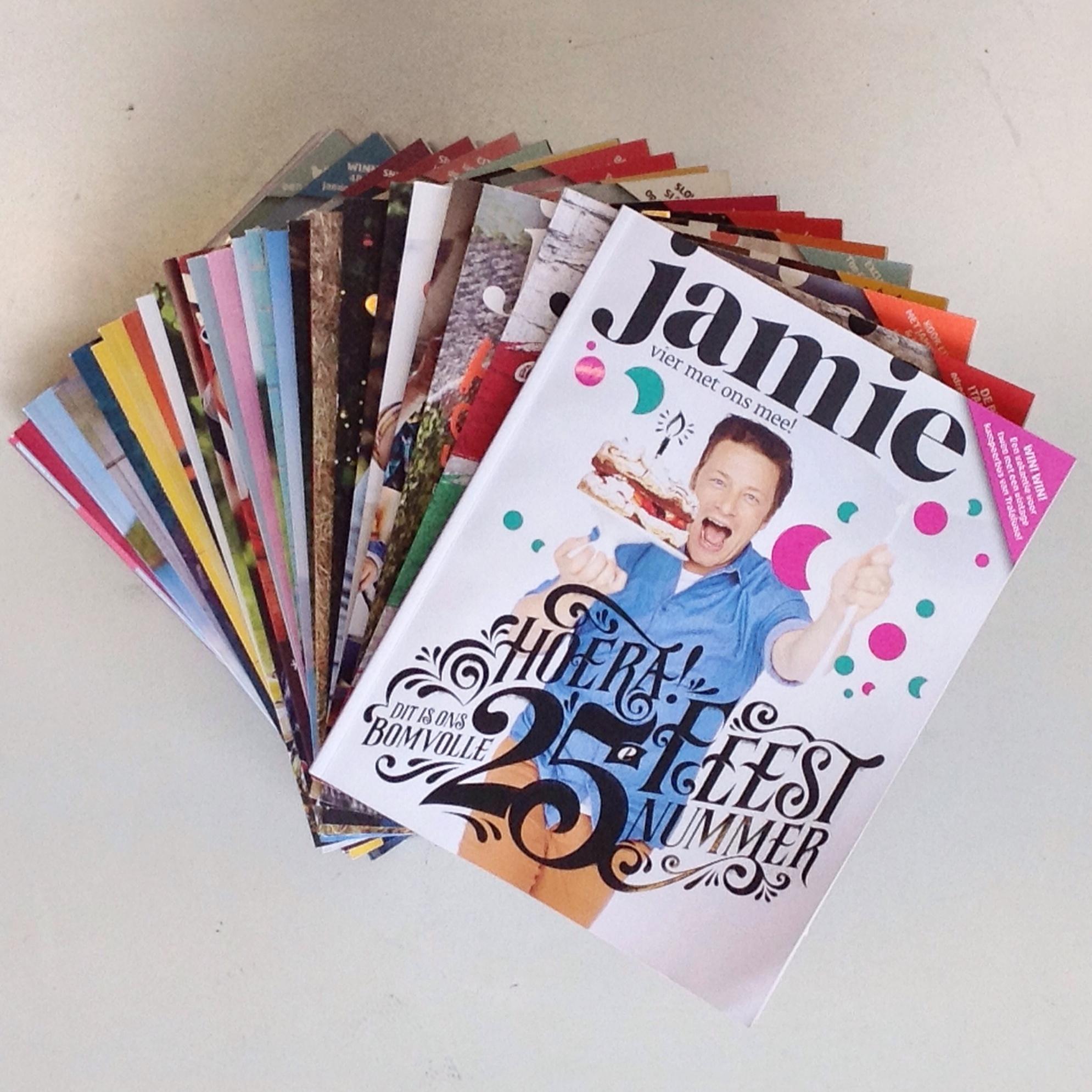 JM1 25 - Win! Jamie Magazine celebrates its 25th issue