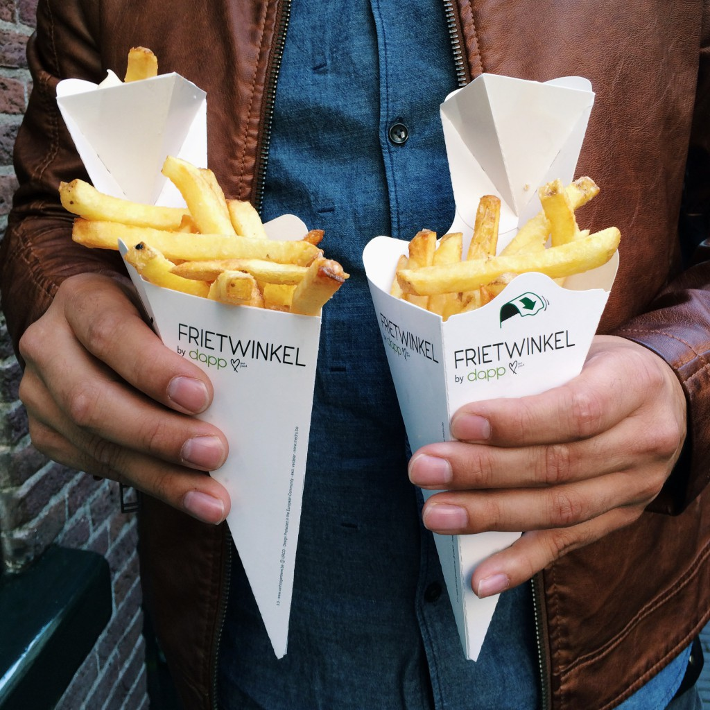 fresh fries from Frietwinkel