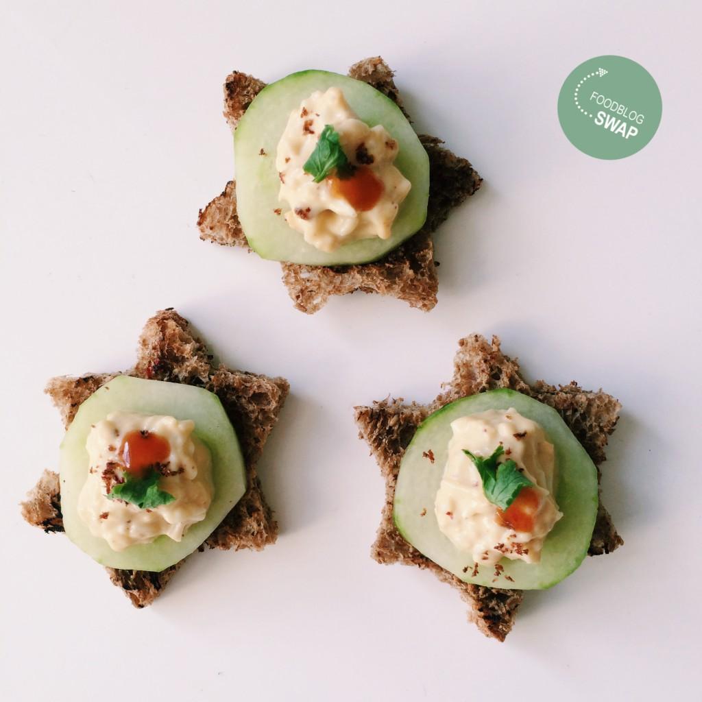 Egg Salad snacks fbs