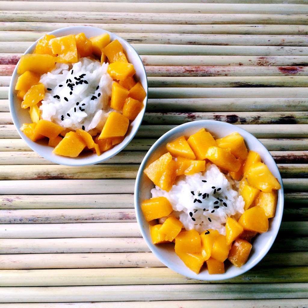 IMG 4846 1024x1024 - Thaise sticky rice met mango