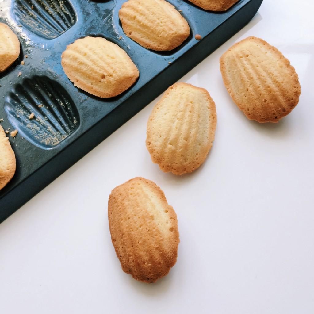 madeleines tray tarte tatin