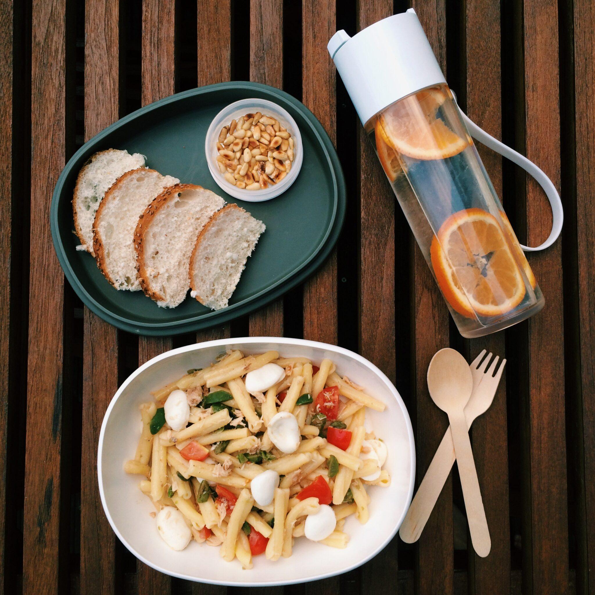 IMG 5407 e1411296413633 - Italian Pasta salad + Give away Rosti Mepal