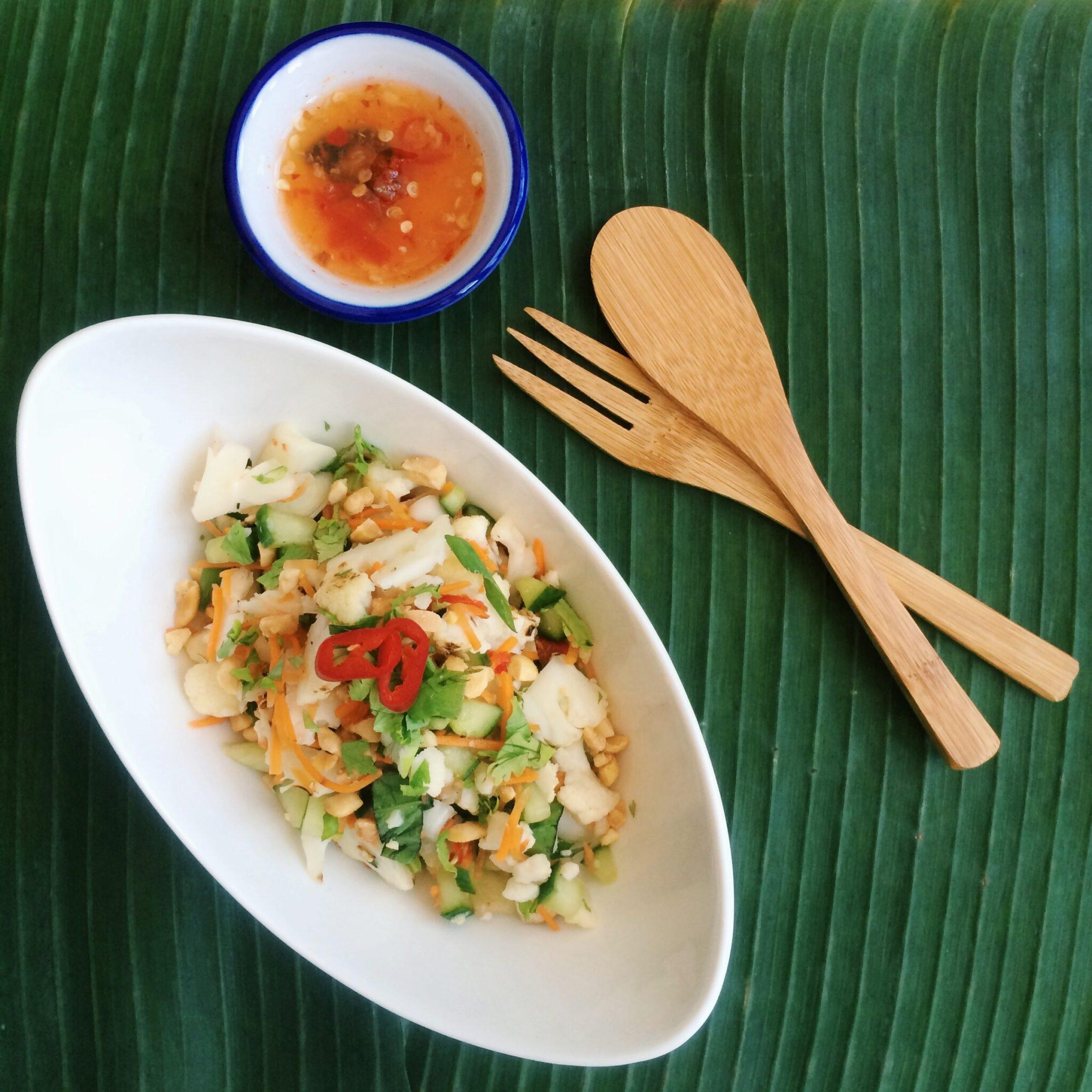 IMG 5685 - Bloggerbabes cooking: Vietnamese Cauliflower salad