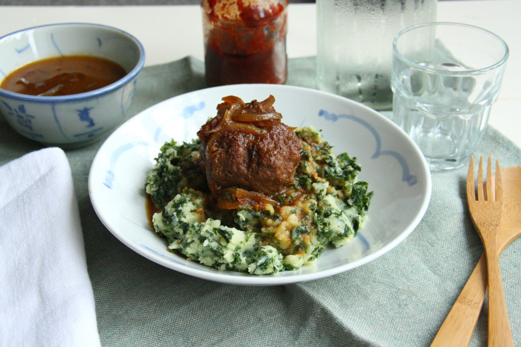 KMA Culinessa 3 1024x682 - Boerenkool stamppot (Kale Hash) with an Indonesian meatball