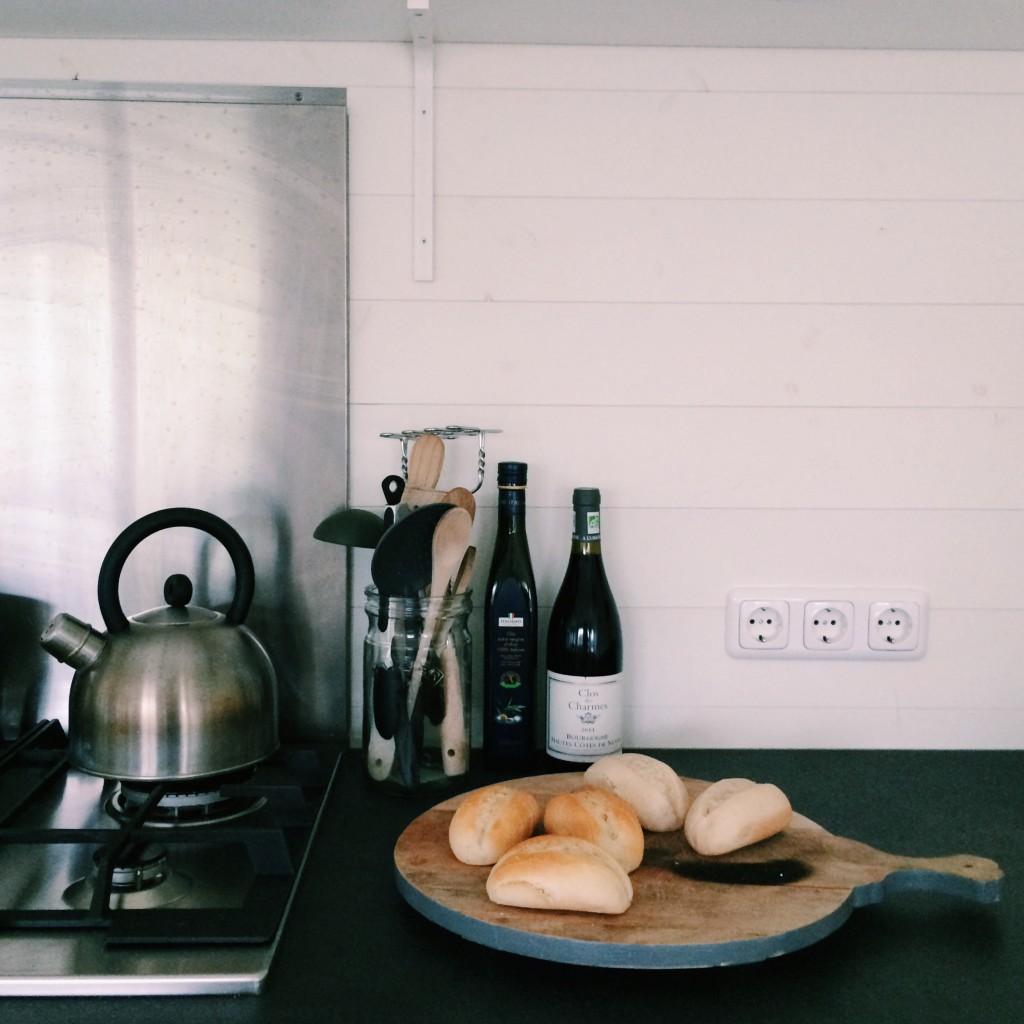 kitchen 1  Huisje van Hout