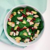 Culinessa healthy spinach salad