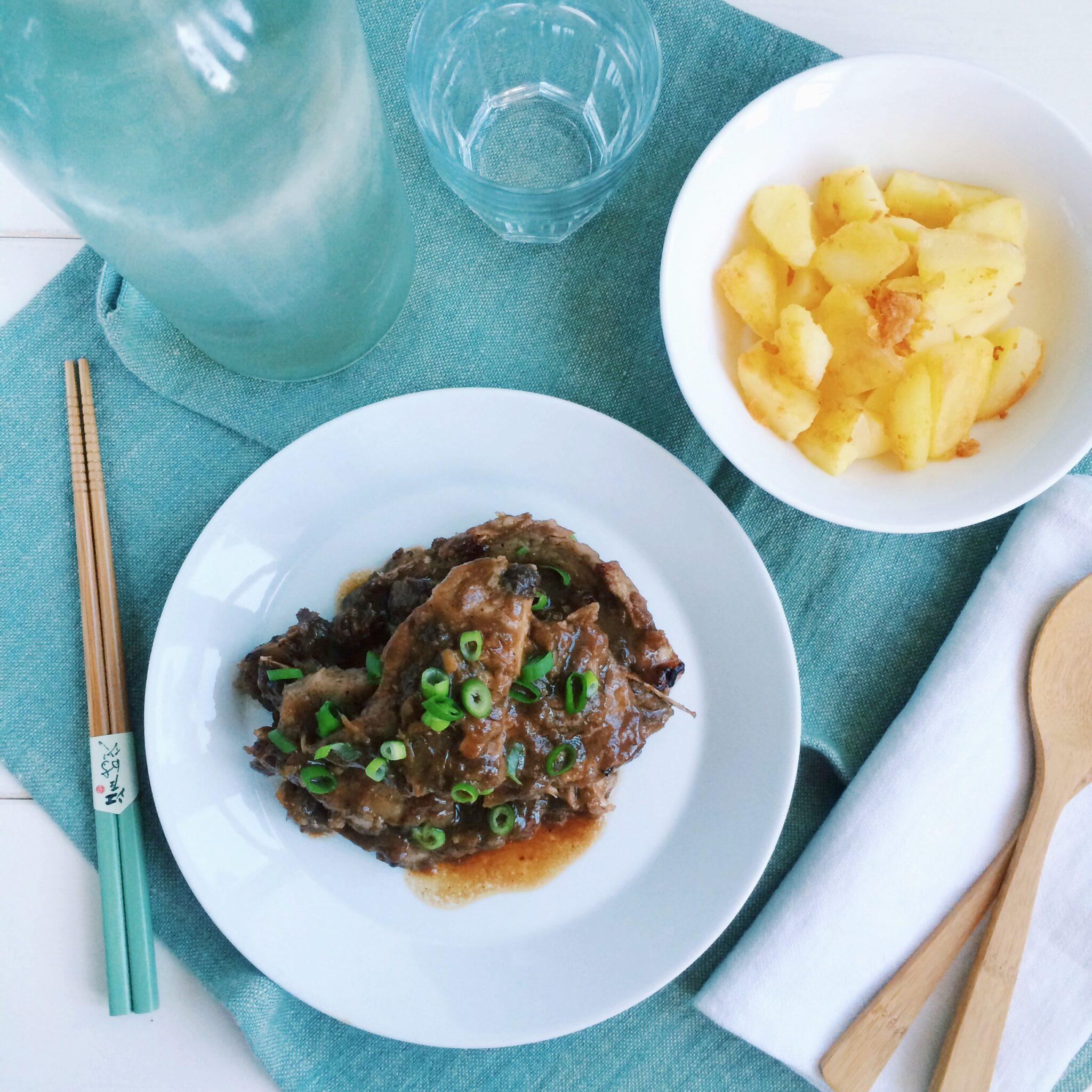 IMG 8926 - Aziatische Karbonades met gebakken aardappeltjes