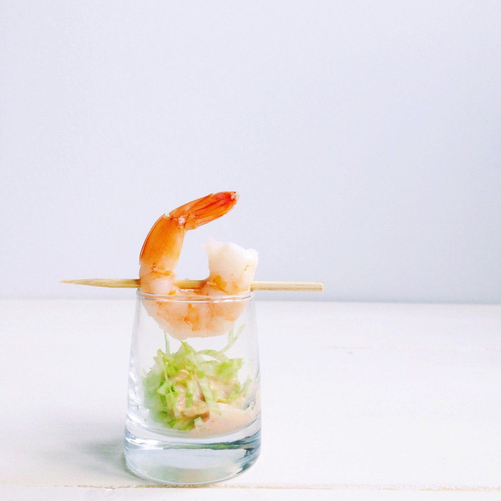 mini shrimp cocktail