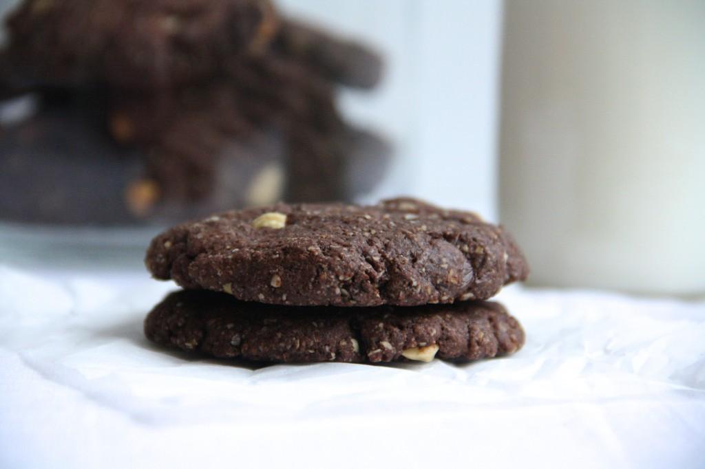 Chocolade Havermout koekjes 1