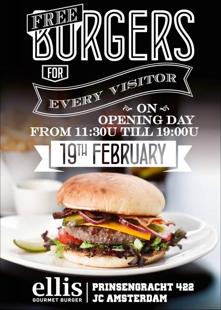 Ellis Gourmet Burger Free