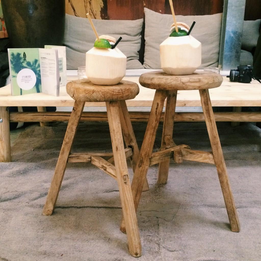 coconuts at CT Amsterdam