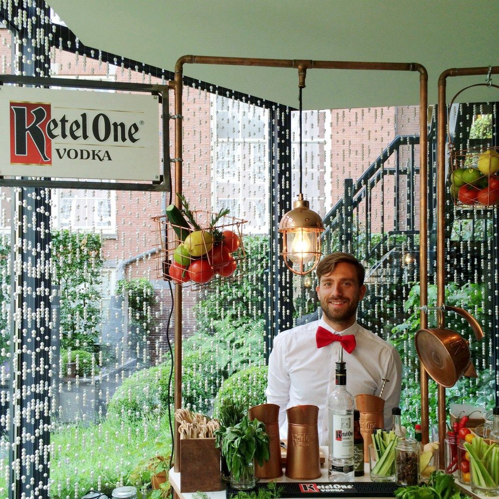 de Ketel One bloody mary bar