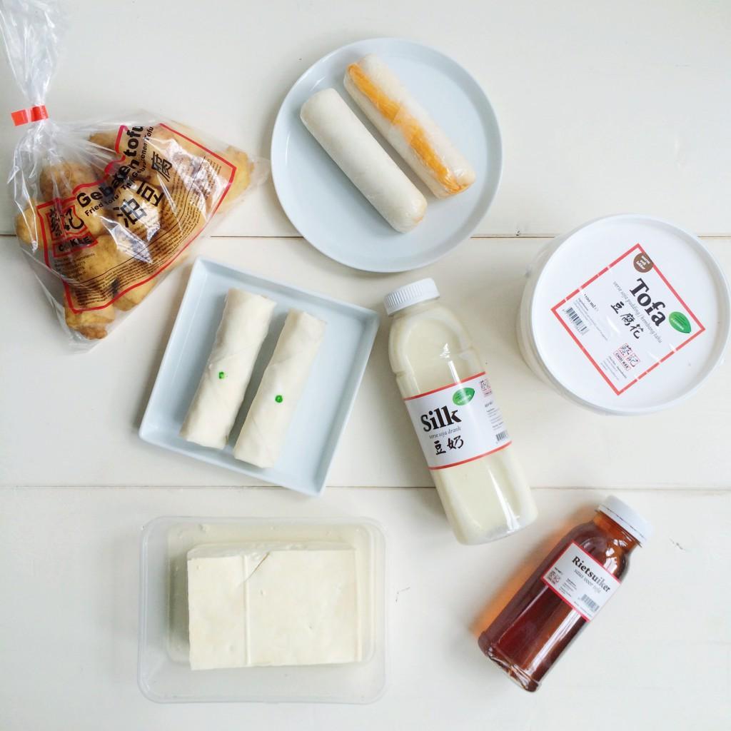 tofu producten