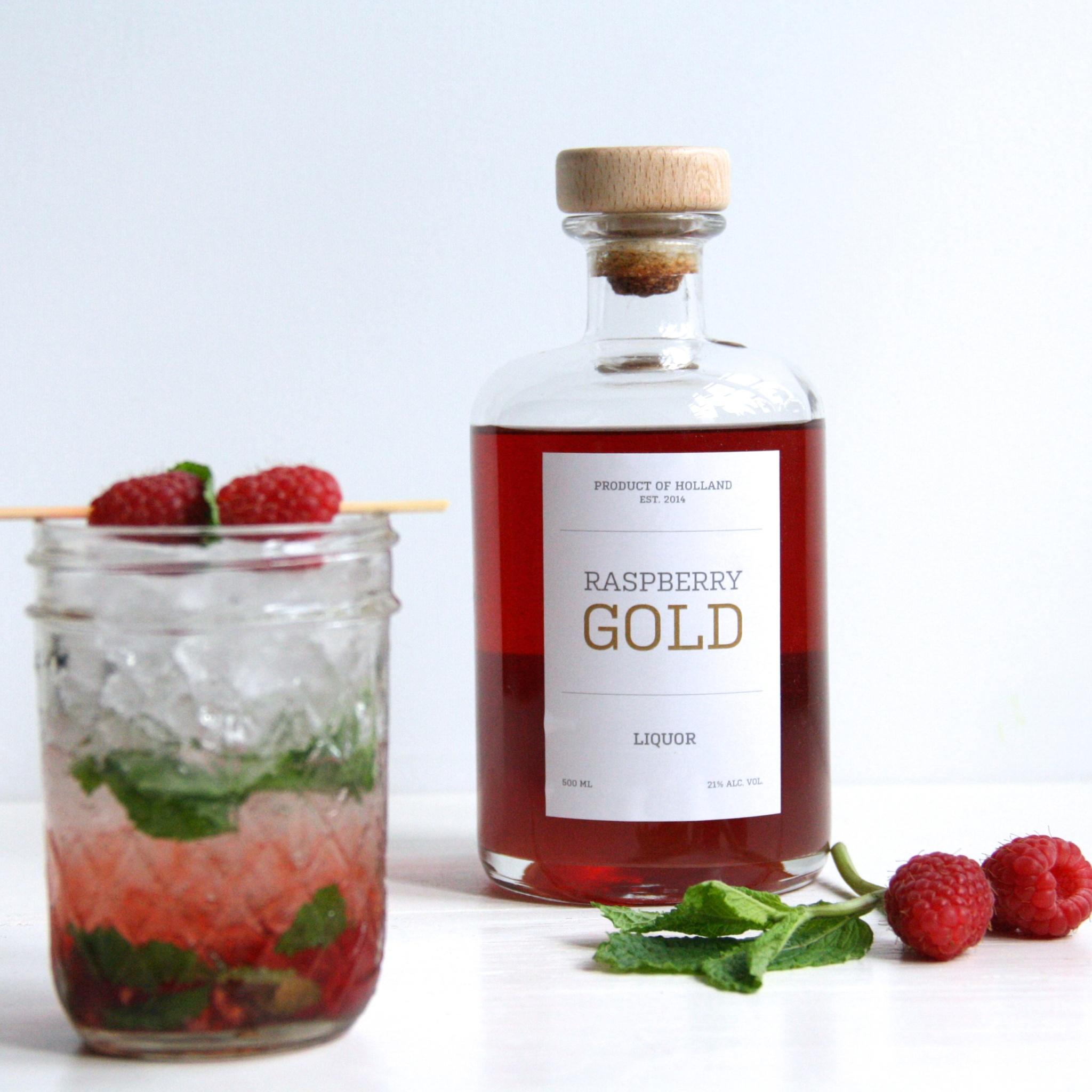culinessa raspberry cocktail