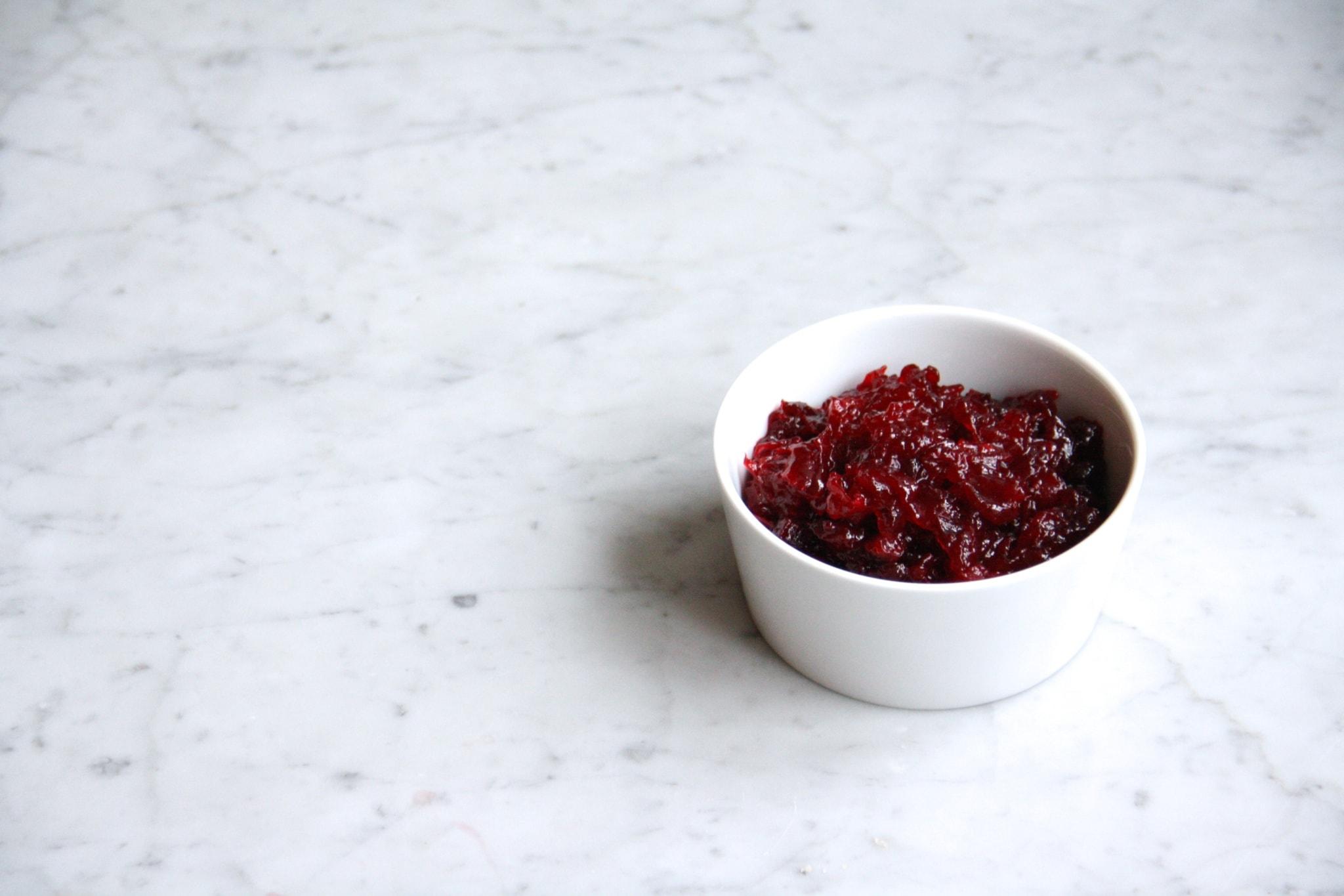 culinessa cranberry saus 2