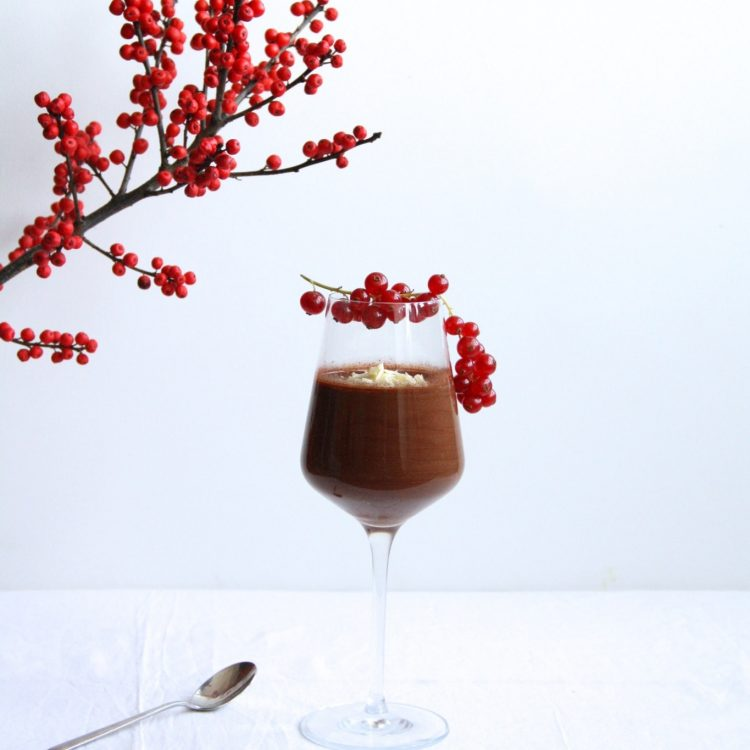 Chocolademousse met pit