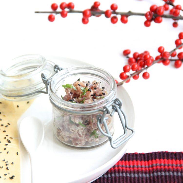 Recept Tonijn tartaar met een pittige mayo
