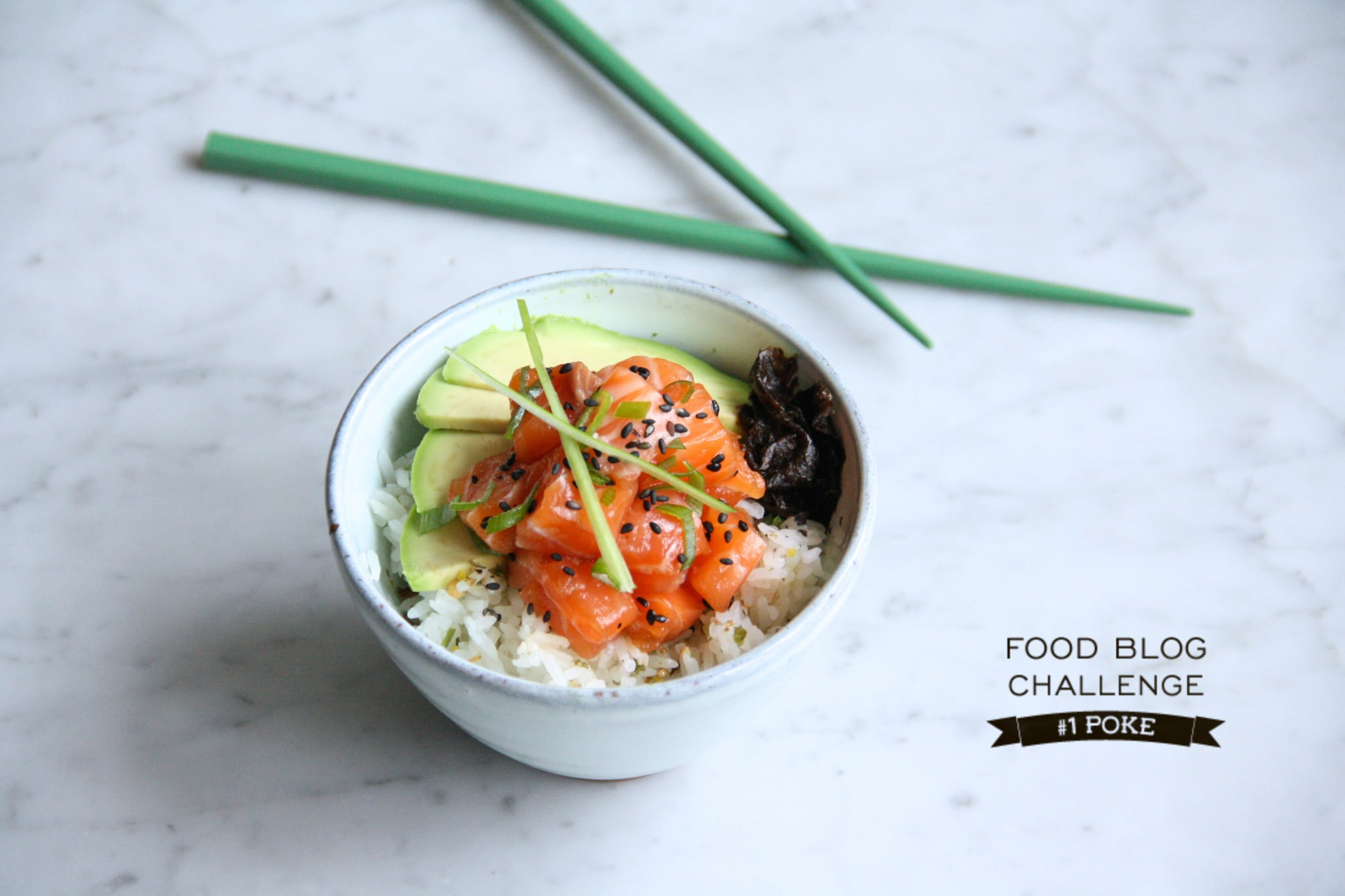 POKE Culinessa logo - Recept Poke - Food Blog Challenge #1