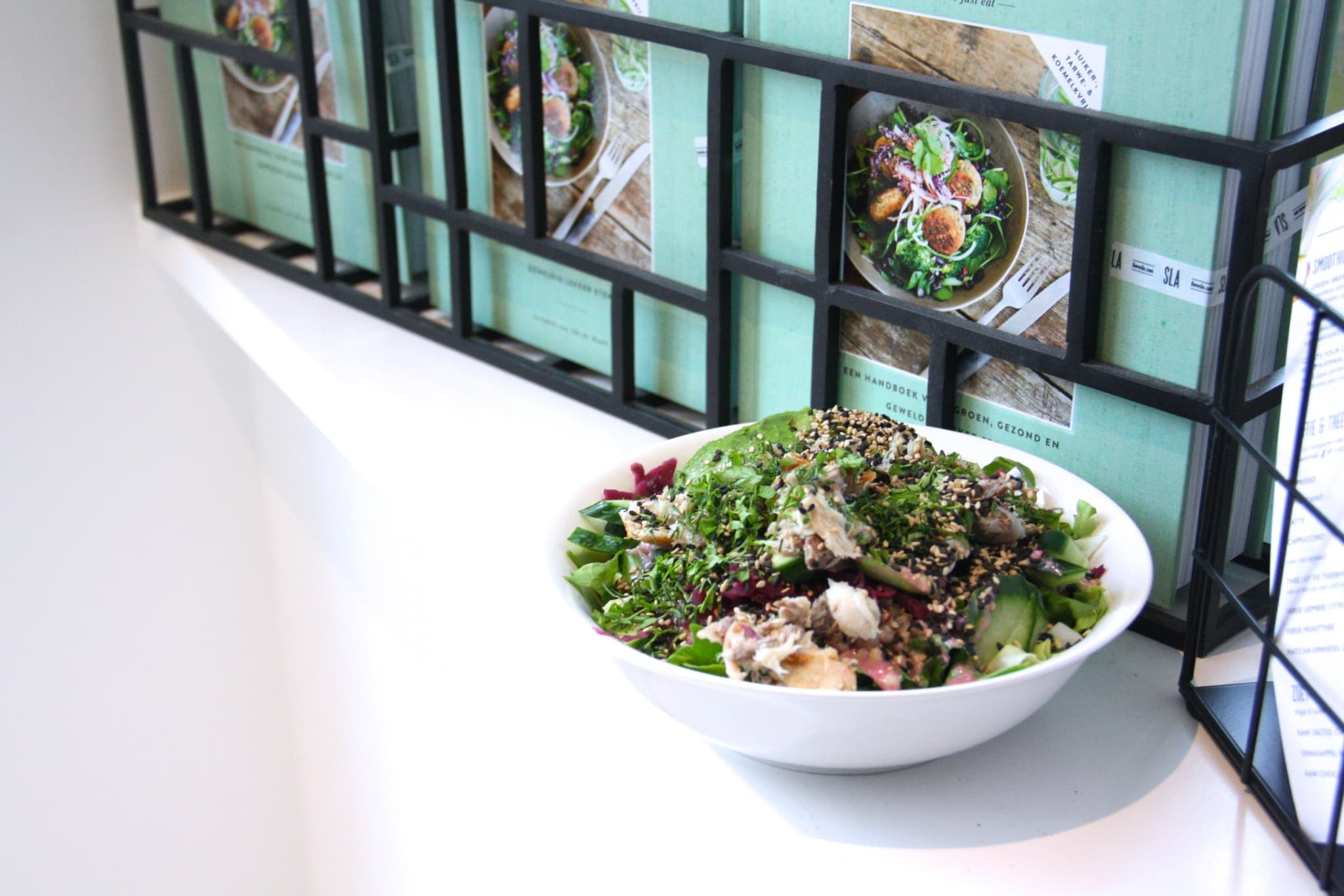 SLA Utrecht Culinessa salade