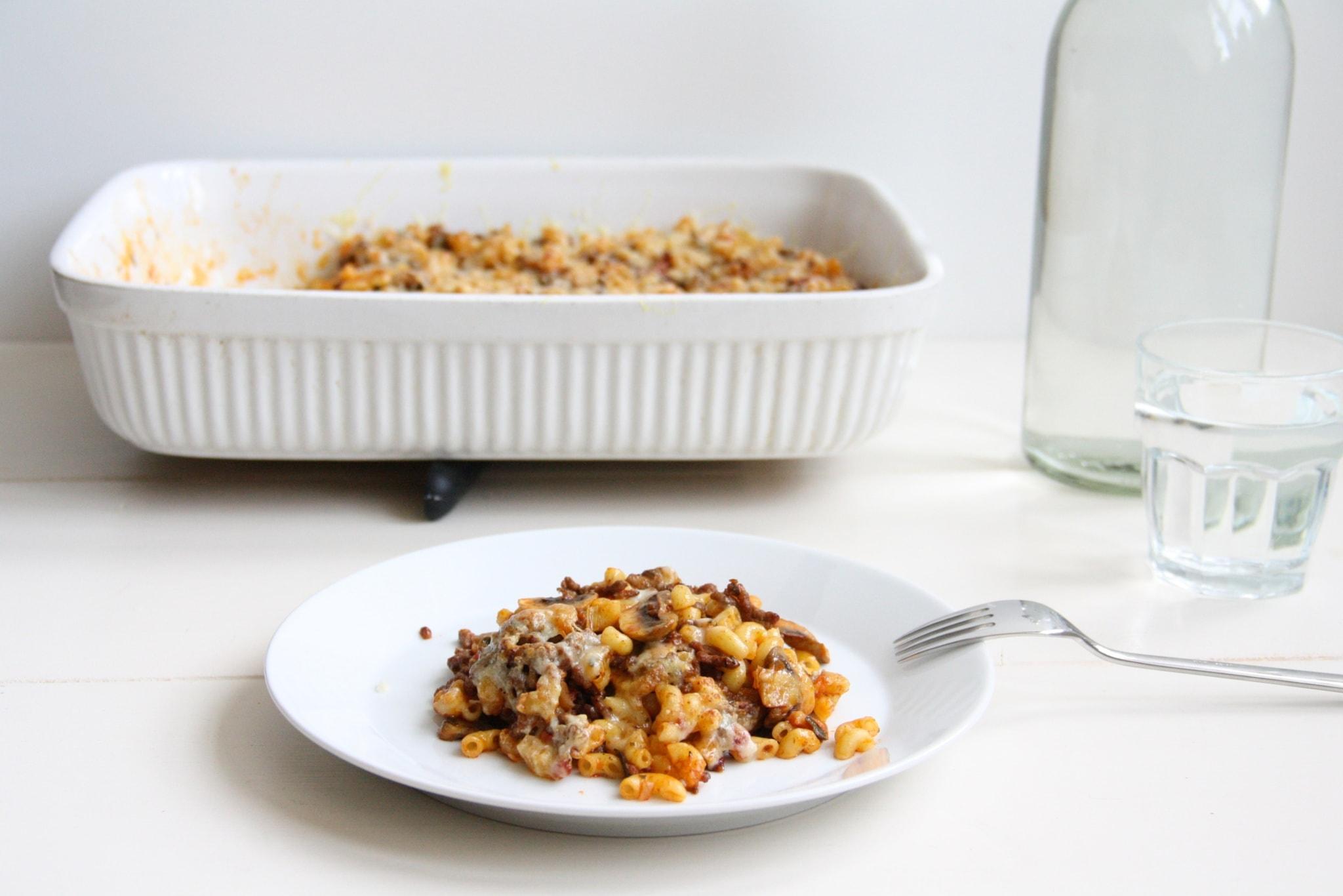 snelle macaronischotel