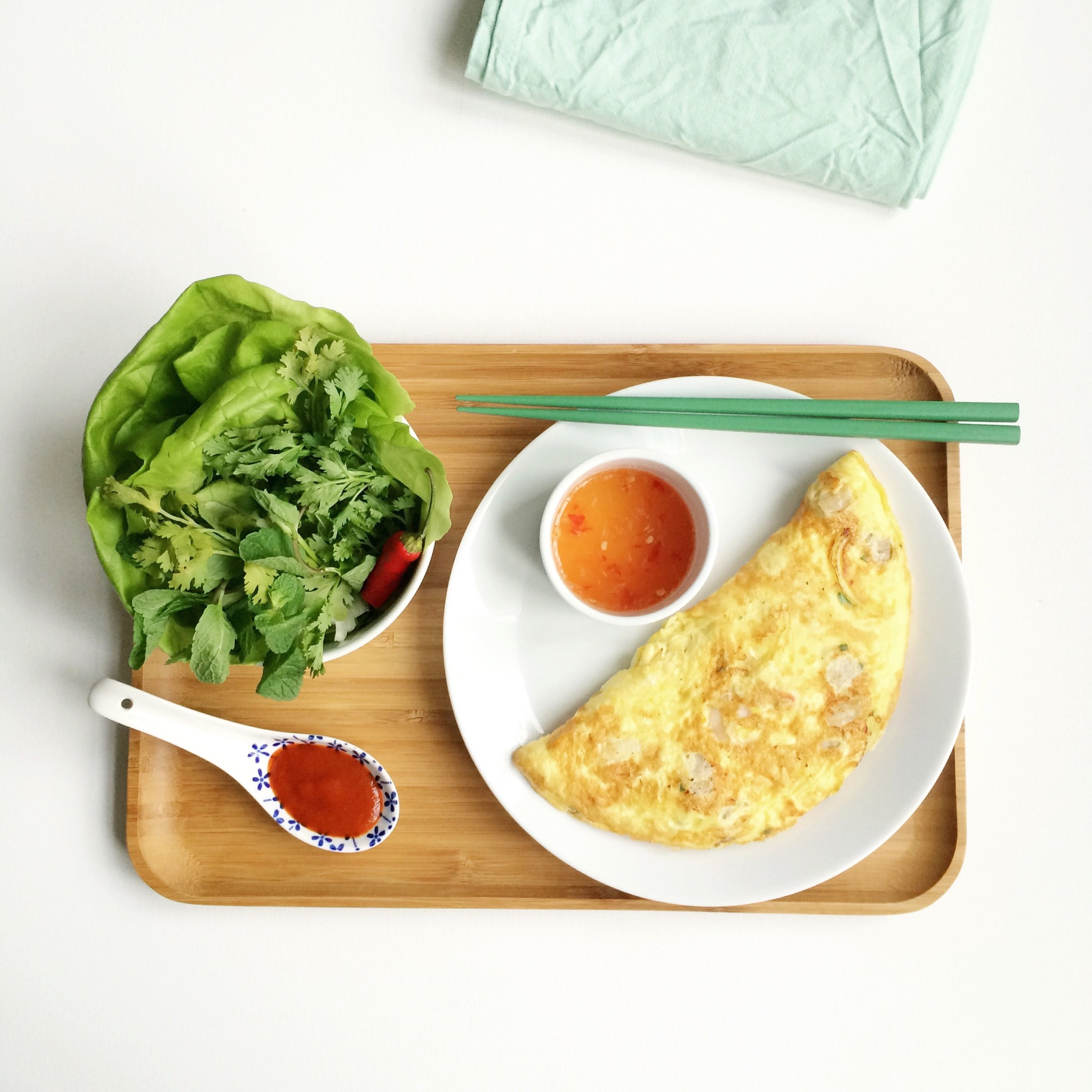 omelet wrap culinessa