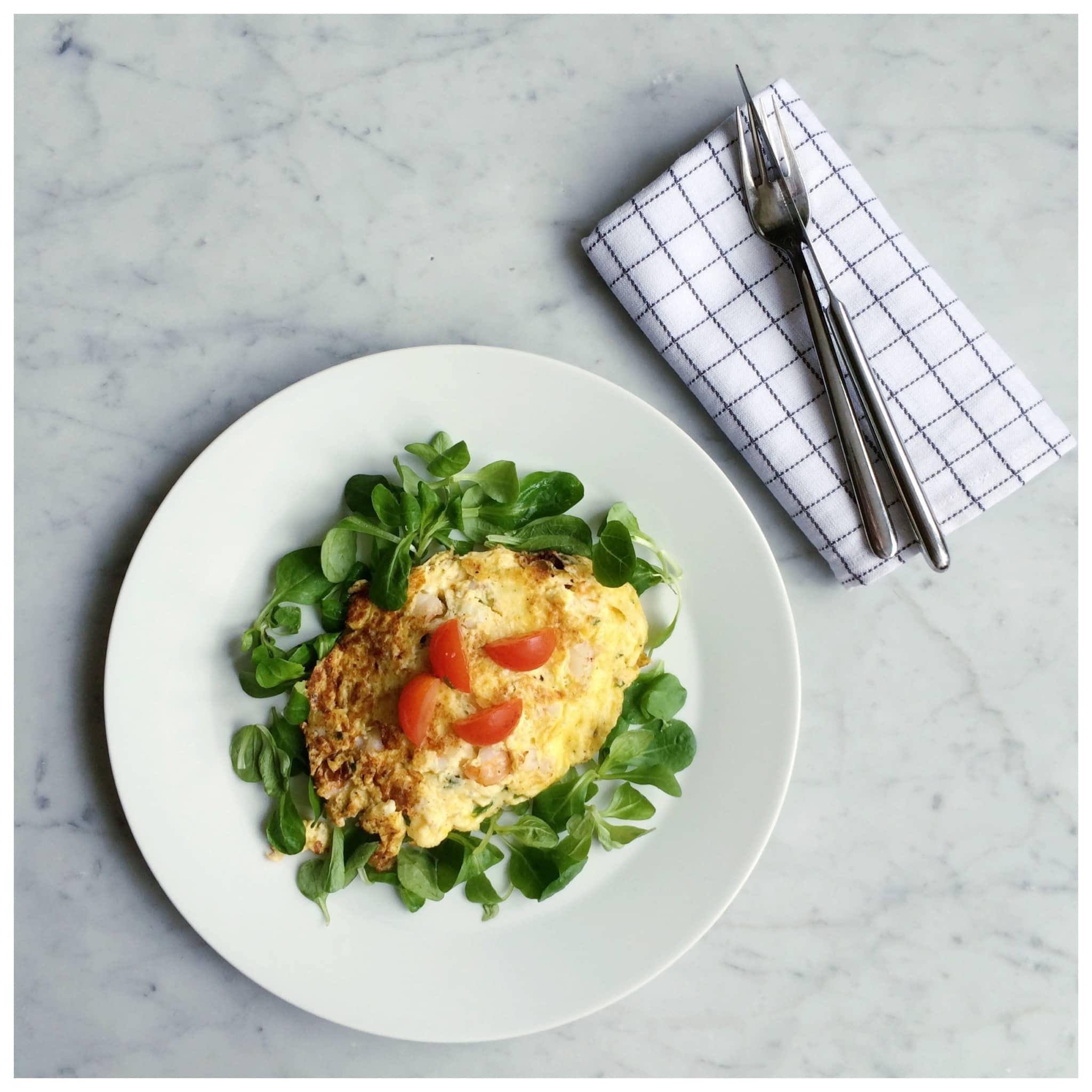 snelle omelet