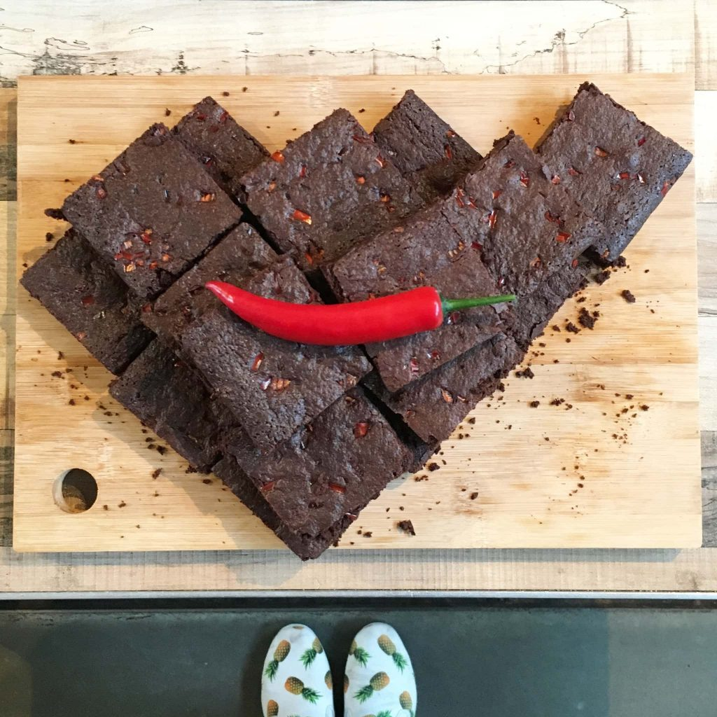 spicy brownies Culinessa