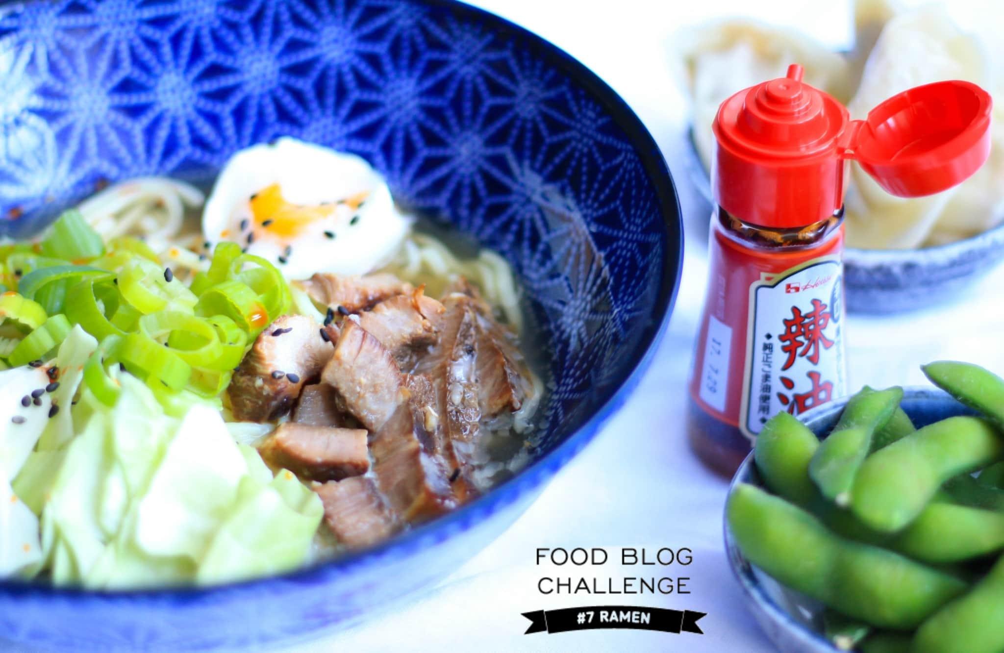 Ramen - Food Blog Challenge #7