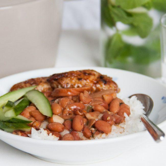 Recept Surinaamse Bruine Bonen met rijst oftewel BB met R