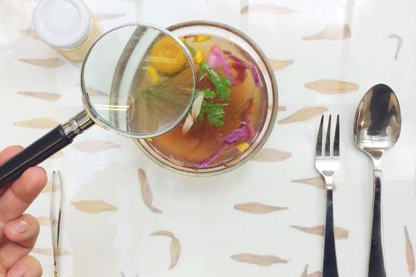 chrysantenbouillon - Een high tea met de Chrysant