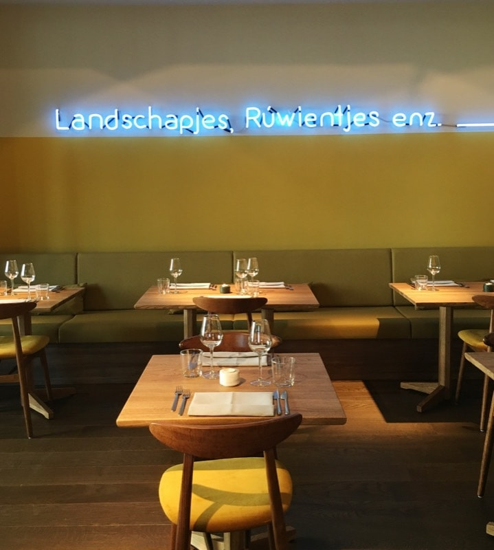 restaurant Jacobsz Amsterdam zaal