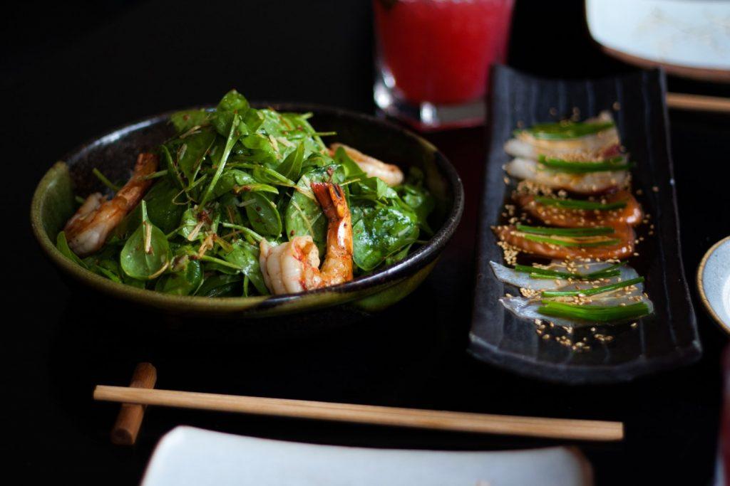 izakaya truffle shrimp salad