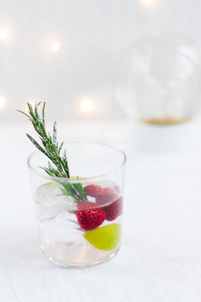 kerst water met een smaakje