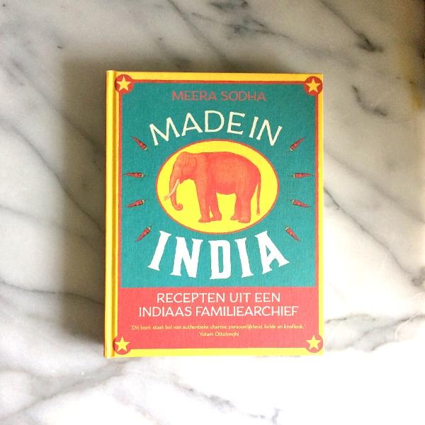 MadeinIndia cover - Kookboek Made in India - Review