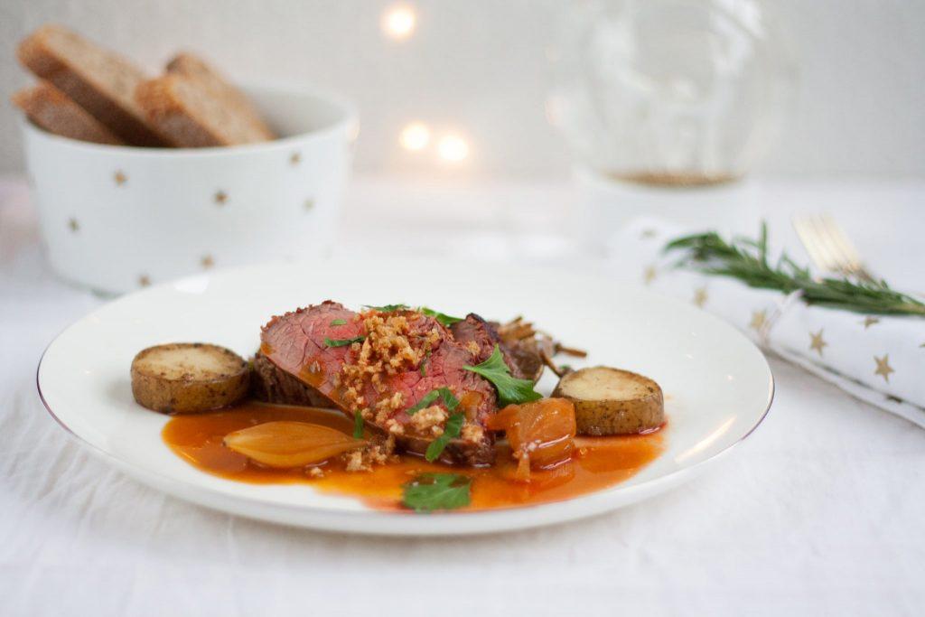 culinessa scotch beef kerst 2 1024x683 - (Kerst) Recept zijlende van Scotch Beef met Jus de veau