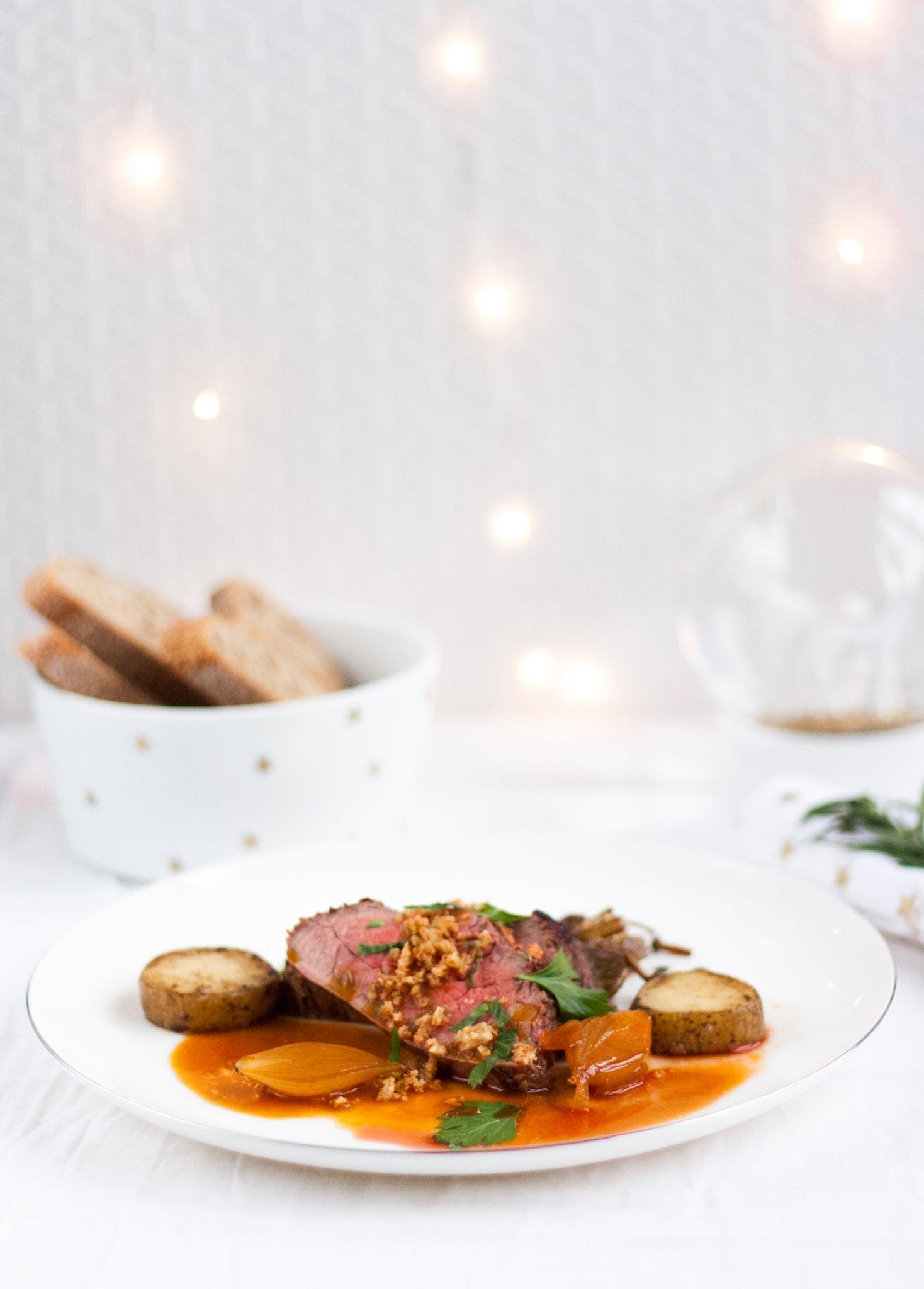 culinessa scotch beef kerst - (Kerst) Recept zijlende van Scotch Beef met Jus de veau