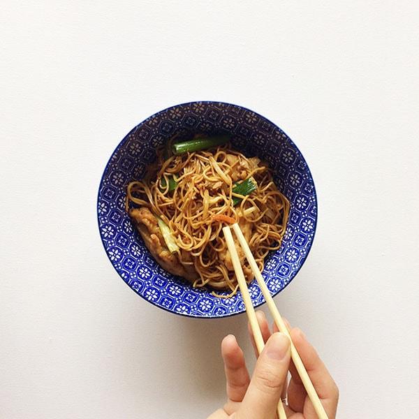 tjauwmin chinese bami chow mein culinessa recept