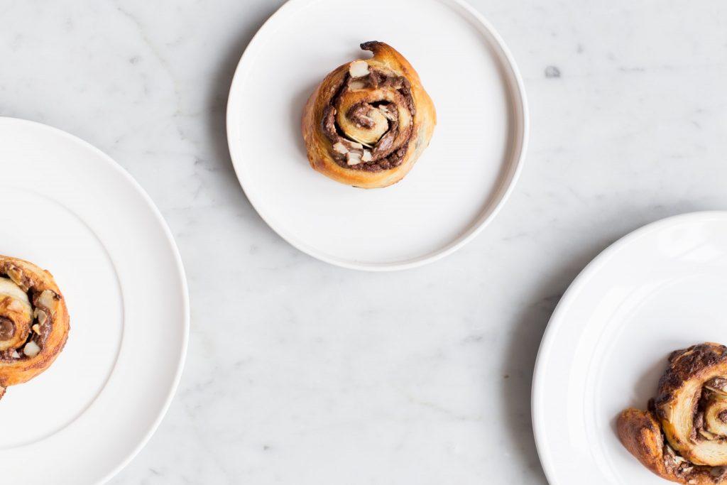 recept voor Chocolade hazelnoot spiralen met criossantdeeg