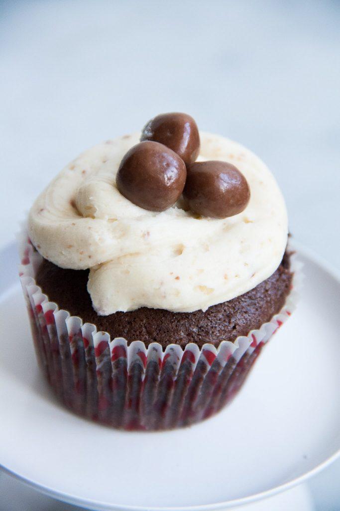 Basis recept chocolade cupcakes met botercreme